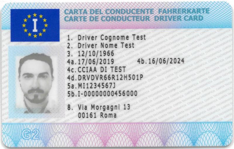 Carta del conducente   Camera di Commercio di Bologna
