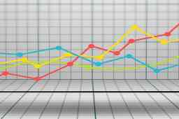 fallimenti 1 sem 2021 - grafico 4 linee rossa gialla verde azzurra