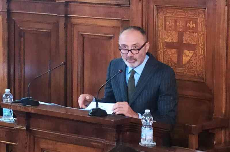 Il presidente della Camera di Commercio Valerio Veronesi